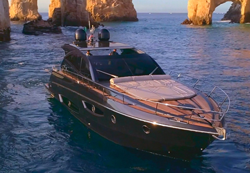 65' Granturismo Rio Cabo Luxury Yacht Charters, Los Cabos Boat Rentals, Yacht Charters Cabo San Lucas, Baja Sur mexico, La Paz, Cabo Luxury Yacht Charters